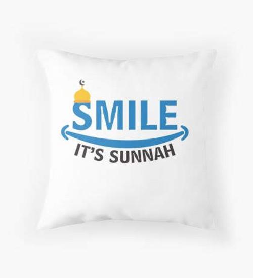 Smile it's Sunnah Pillow