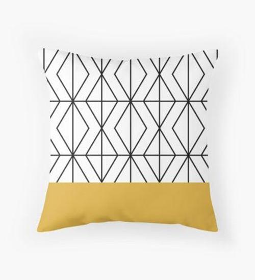 Mustard tip Pillow