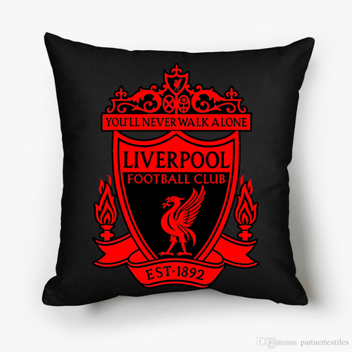 Liverpool Pillow black