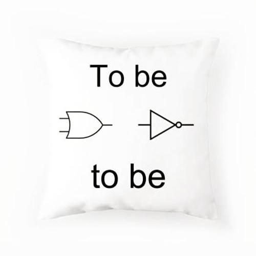 To be or not to be Pillow