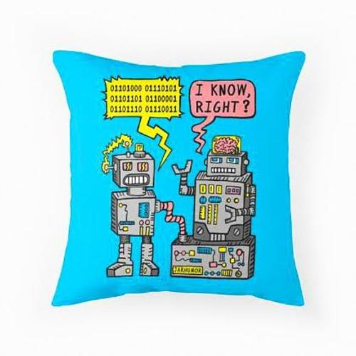 Robots Pillow