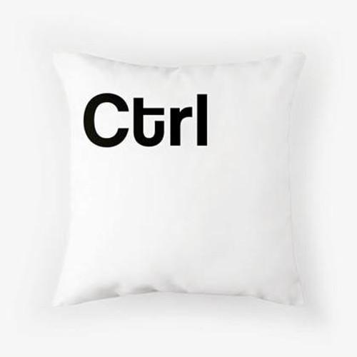 Ctrl Pillow white