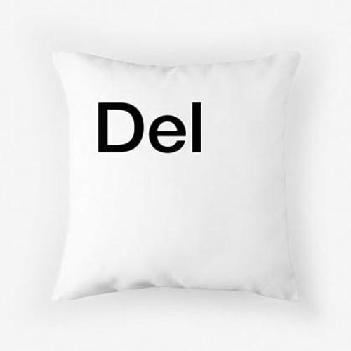 Del pillow white