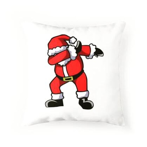 Dabbing Santa Pillow