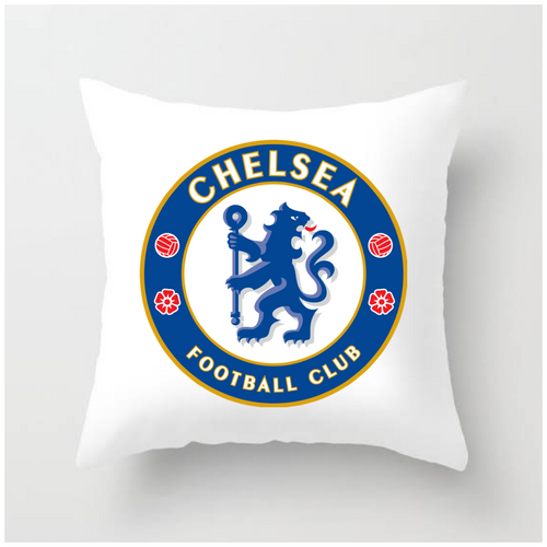 Pillow with Chelsea logo