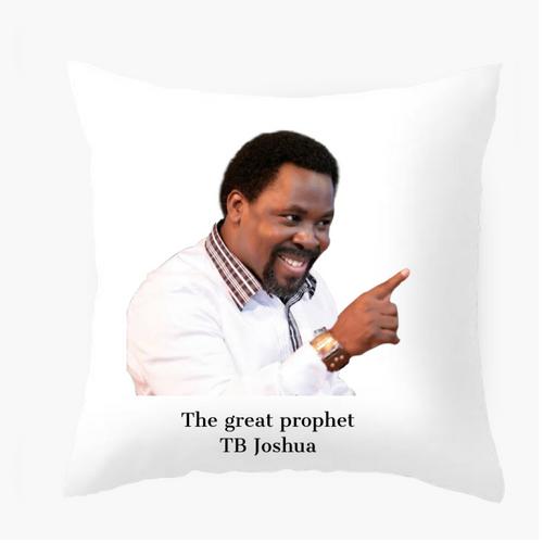 The Tb Joshua pillow
