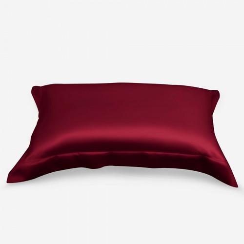 Burgundy Satin pillowcase (3pcs set)