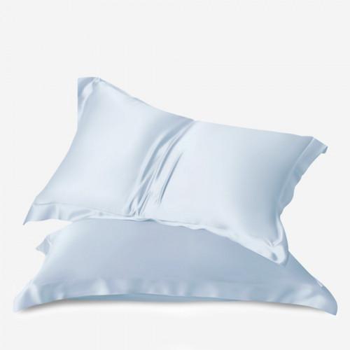 Light blue Satin pillowcase