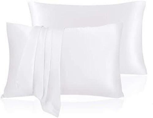 White Silk Pillowcase (3pcs set)