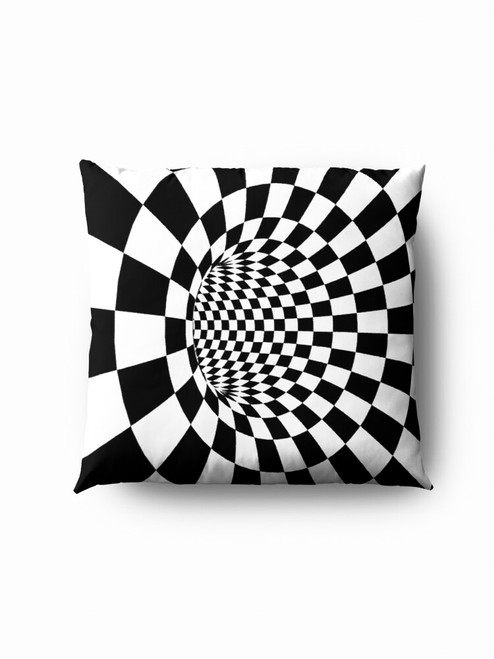 Black hole optics Pillow