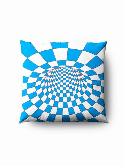 Blue hole optics Pillow