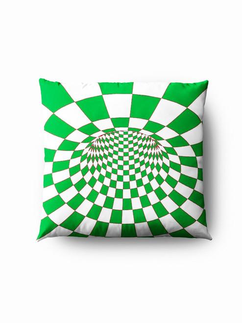 Green hole optics Pillow