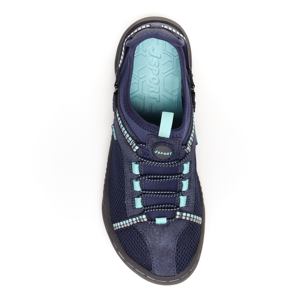 Navy/Light Turquoise