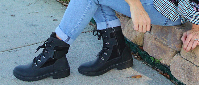 Edgy Boots for Mature Women