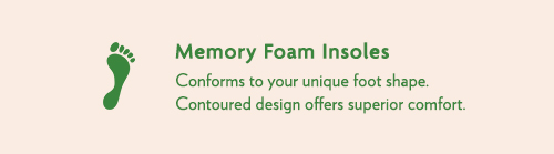 comfortable memory foam insoles