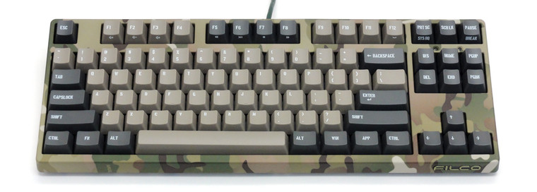 Majestouch 2 Filco Camouflage-R TenKey-less BLUE switch mech KB