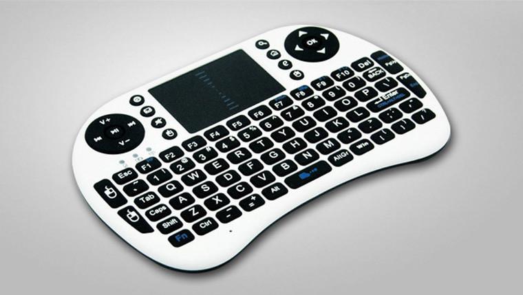 Riitek Mini RF Wireless i8 Keyboard with trackpad MWK08W White (MWK08W)