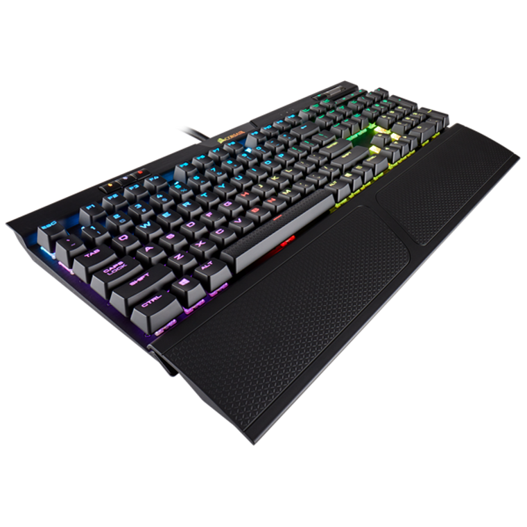 Corsair K70 MK.2 RGB Gaming™ Cherry MX Red, Backlit RGB LED, Aluminium Frame Mechanical Keyboard