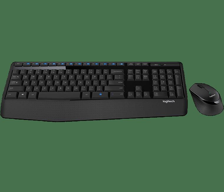 Logitech MK345 Wireless Keyboard & Mouse Combo Full Size 12 Media