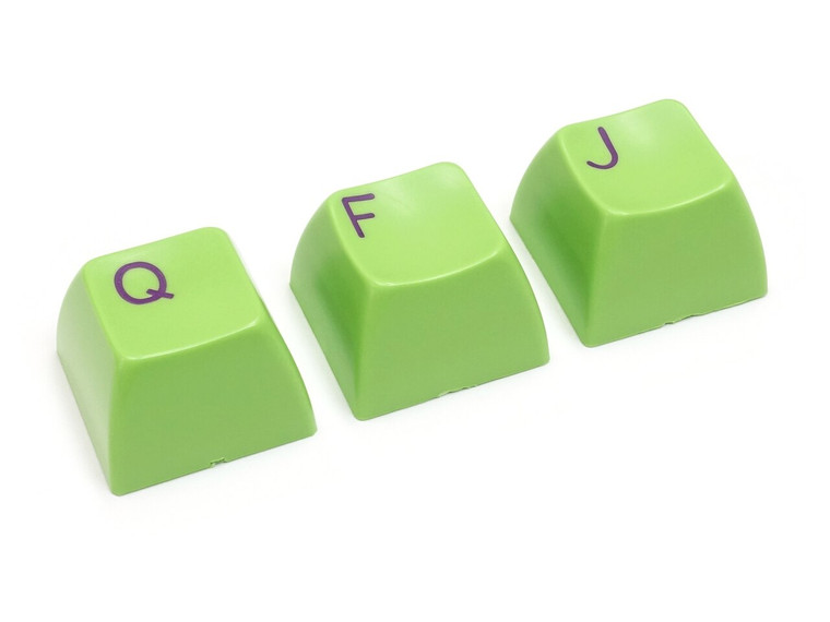 Filco Double-shot 104-Key keycap set for Majestouch 2 - Purple & Green
