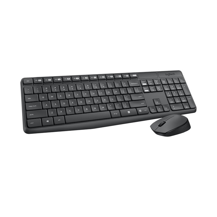 Logitech MK235 Wireless Keyboard and Mouse Combo 2.4GHz Wireless