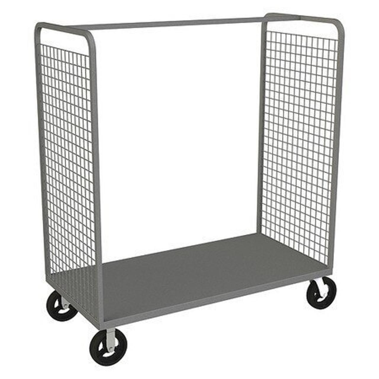 DURHAM W2ST-306068-1-8MR95, Wire Cart, 1 shelf