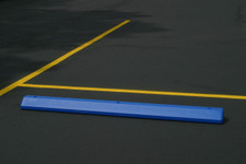 Parking Stop-Blue Polyethylene