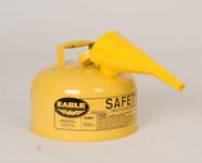 Metal - Yellow w/F-15 Funnel - 2 Gal.