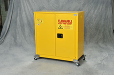 Wheel Kit for 12,15, 16, 30 gal. Safety Cabinets