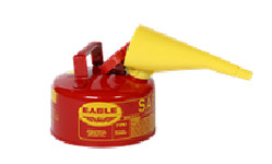 Metal - Red w/F-15 Funnel - 1 Gal.