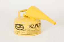 Metal - Yellow w/F-15 Funnel - 1 Gal.