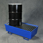Two Drum Steel Containment Pallet