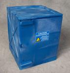 Poly Cabinet Bench Top 1 Door-2 Shelves-Blue