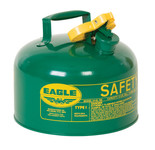 EAGLE Type I Safety Can, 2.5 Gal. Green, UI-25-SG