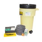 50 Gal Wheeled Poly-SpillPack Spill Kit - Universal