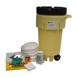 50 Gal Wheeled Poly-SpillPack Spill Kit - Oil Only