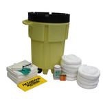 95 Gal Wheeled Poly-SpillPack Spill Kit - Oil Only