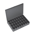 DURHAM 107-95, Large steel compartment box, 32 opening