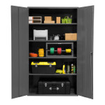 DURHAM 2502-4S-95, Shelf Cabinet, 48X24, 16 gauge, 4 shelf