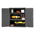 DURHAM 2503-2S-95, Shelf Cabinet, 36X24, 16 gauge, 2 shelf