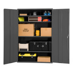 DURHAM 2504-4S-95, Shelf Cabinet, 48X24X84, 4 shelves