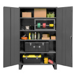 DURHAM 2505-4S-95, Shelf Cabinet, 48X24X78, 4 shelves