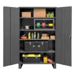 DURHAM 2505-4S-95, Shelf Cabinet, 48X24X78, 4 shelves