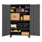 DURHAM 2506-4S-95, Shelf Cabinet, 60X24, 16 gauge, 4 shelf