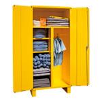 DURHAM 3501-HDL-50, Spill Control Cabinet, 5 shelves