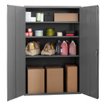 DURHAM 3502-95, Shelf Cabinet, 24X48X72, 3 shelves