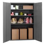 DURHAM 3502-95, Shelf Cabinet, 24X48X72, 3 shelves