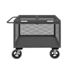 DURHAM 4STHC-EX-3048-6MR-95, 4 Sided Mesh Box Truck, hinged cover
