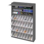 DURHAM 590-95, Dispensing Cabinet, 4 trays, 28 dividers