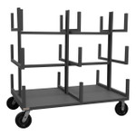 DURHAM BPT-3648-8PH-95, Bar or Pipe Moving Truck, 18 cradles